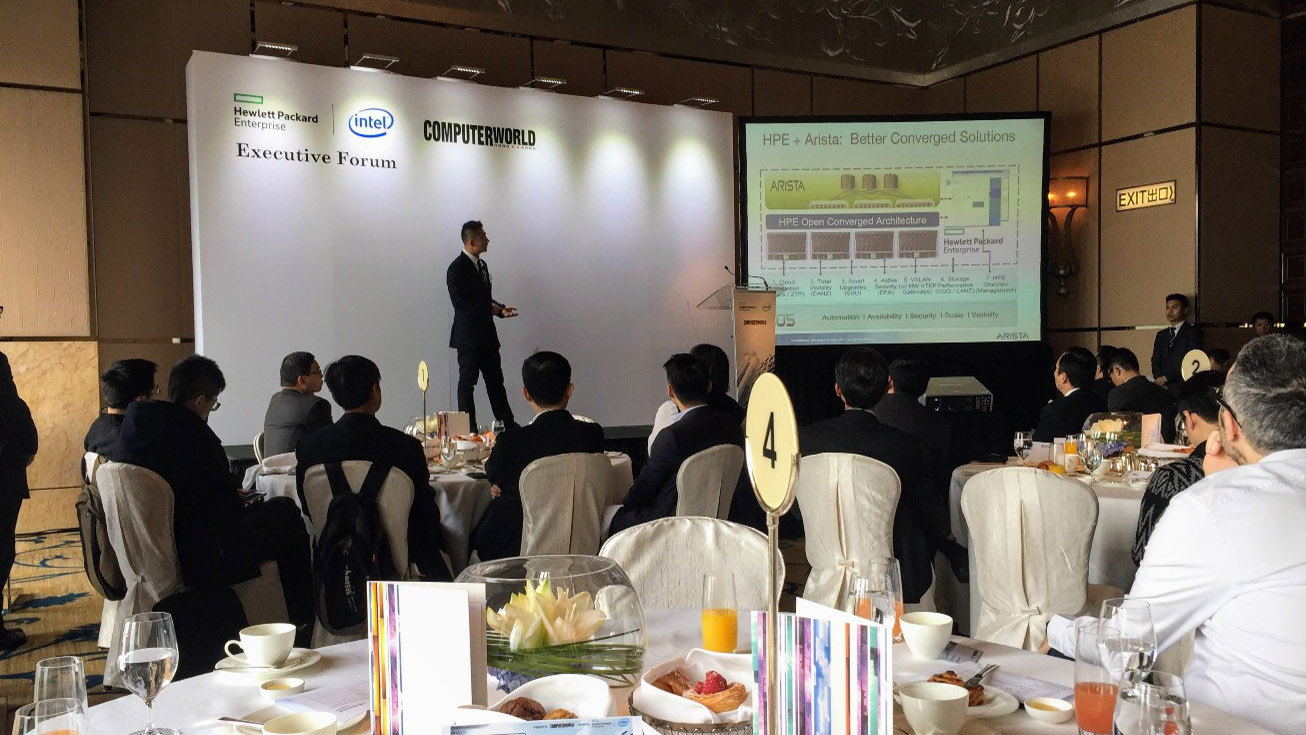 HP Enterprise – Executive forum – Henk ten Bos Management