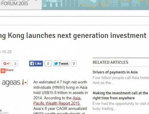 Ageas Hong Kong launches next generation investment platform