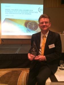 Celent Model Insurer award