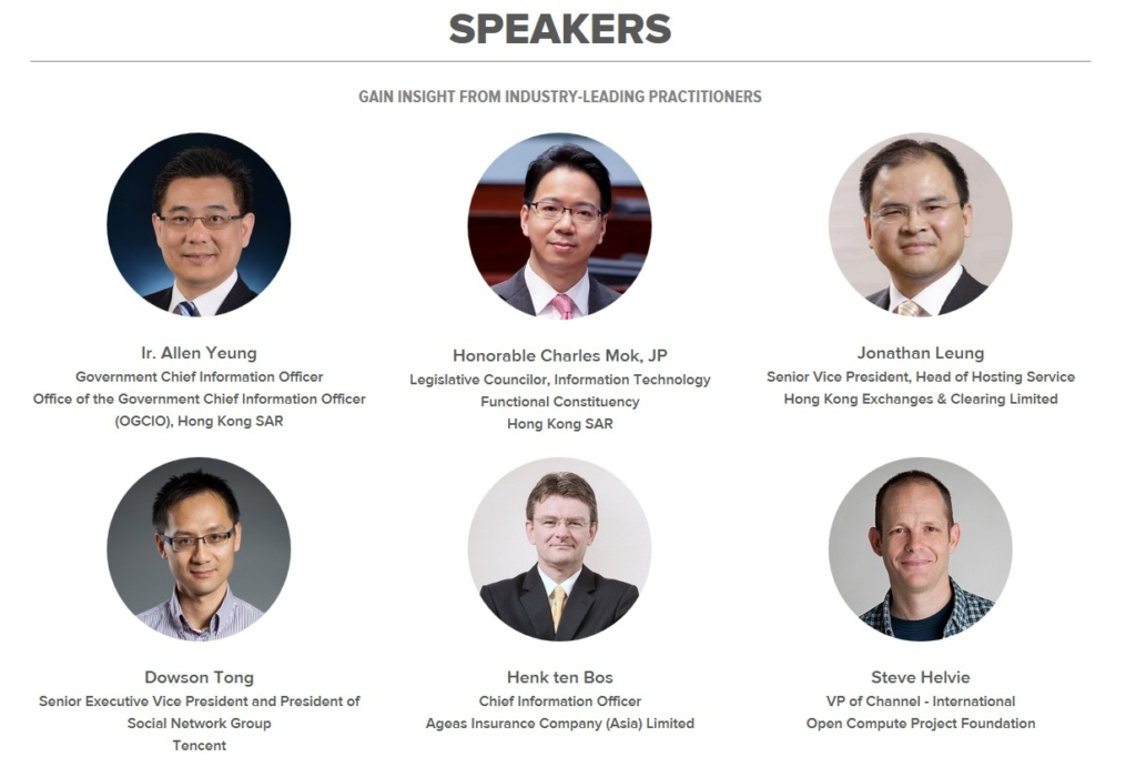 Speakers DCD 2015